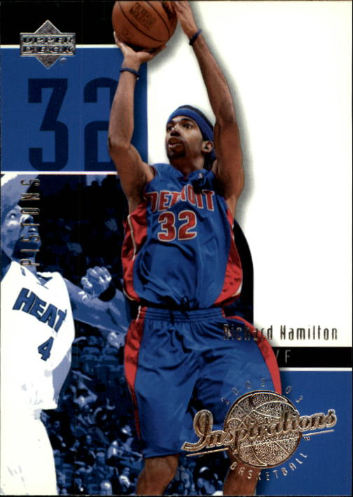 2002-03 Upper Deck Inspirations #20 Richard Hamilton