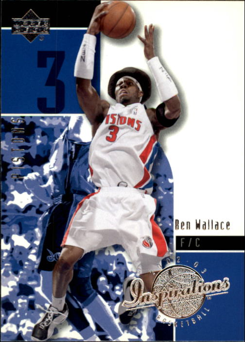2002-03 Upper Deck Inspirations #21 Ben Wallace