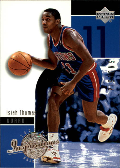 2002-03 Upper Deck Inspirations #22 Isiah Thomas front image