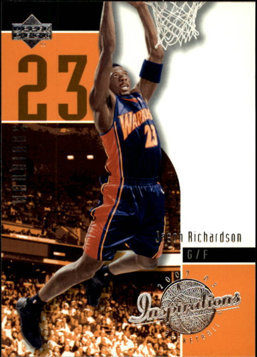 2002-03 Upper Deck Inspirations #24 Jason Richardson