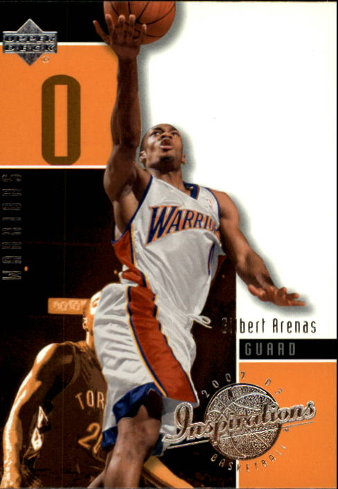 2002-03 Upper Deck Inspirations #25 Gilbert Arenas