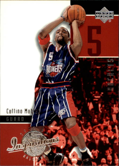 2002-03 Upper Deck Inspirations #28 Cuttino Mobley
