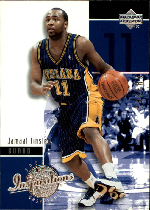 2002-03 Upper Deck Inspirations #30 Jamaal Tinsley