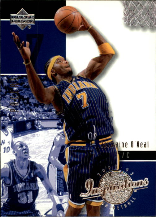 2002-03 Upper Deck Inspirations #31 Jermaine O'Neal