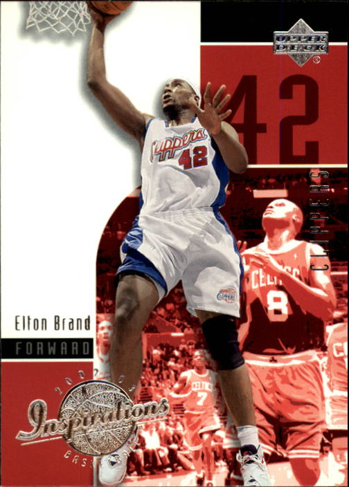 2002-03 Upper Deck Inspirations #32 Elton Brand