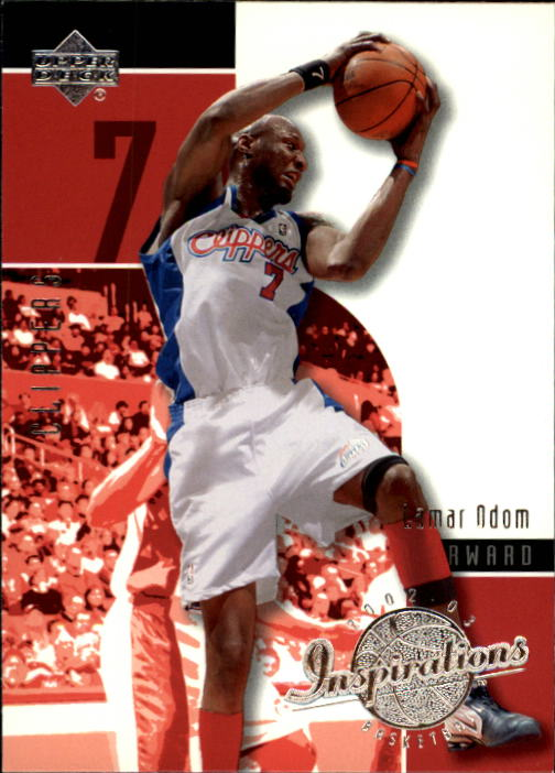2002-03 Upper Deck Inspirations #34 Lamar Odom