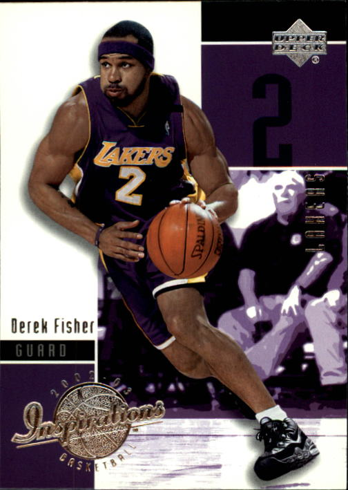 2002-03 Upper Deck Inspirations #38 Derek Fisher