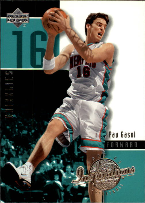 2002-03 Upper Deck Inspirations #39 Pau Gasol