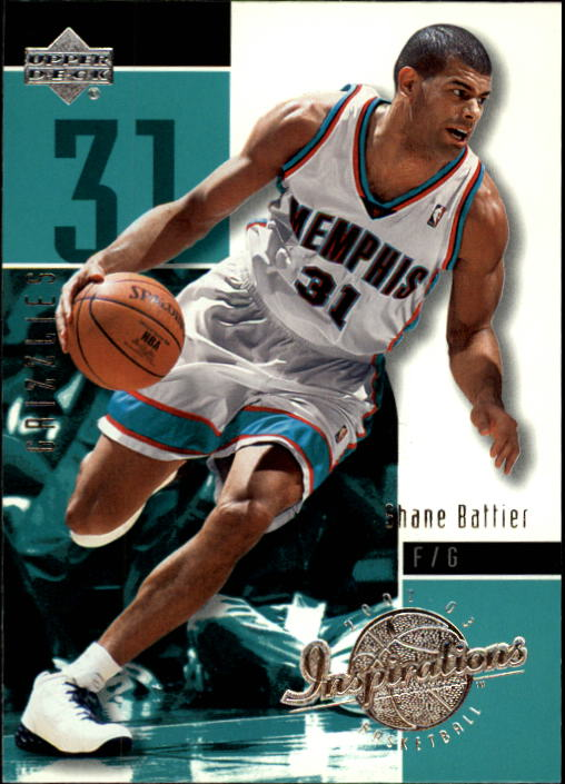 2002-03 Upper Deck Inspirations #40 Shane Battier