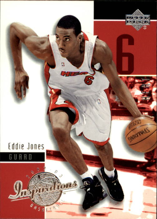 2002-03 Upper Deck Inspirations #42 Eddie Jones