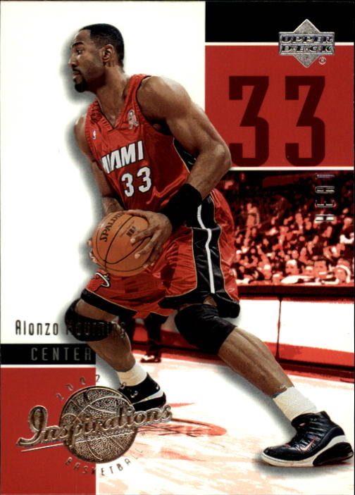 2002-03 Upper Deck Inspirations #43 Alonzo Mourning