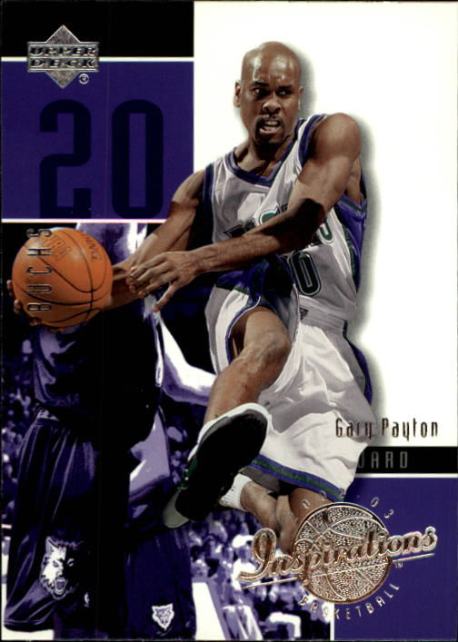 2002-03 Upper Deck Inspirations #45 Gary Payton