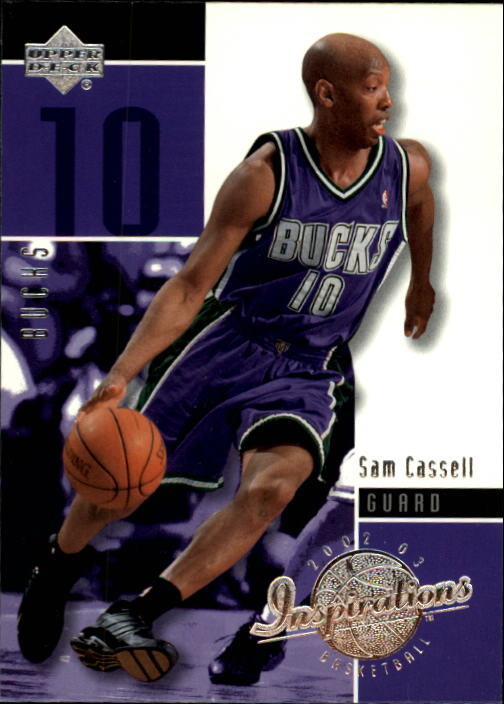 2002-03 Upper Deck Inspirations #46 Sam Cassell