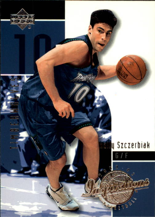 2002-03 Upper Deck Inspirations #49 Wally Szczerbiak