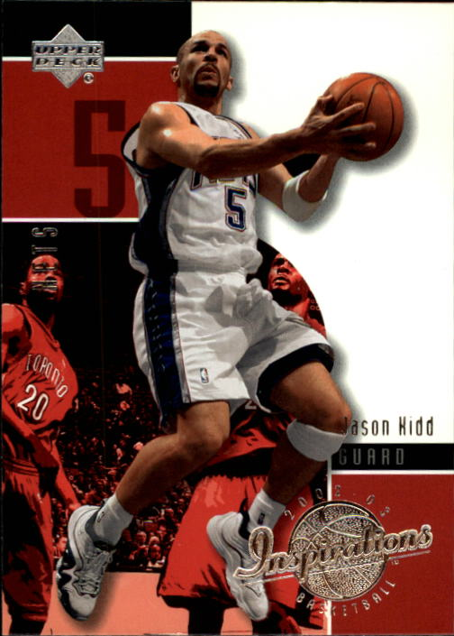 2002-03 Upper Deck Inspirations #51 Jason Kidd