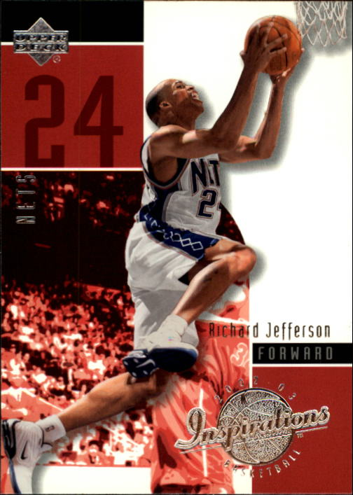 2002-03 Upper Deck Inspirations #52 Richard Jefferson