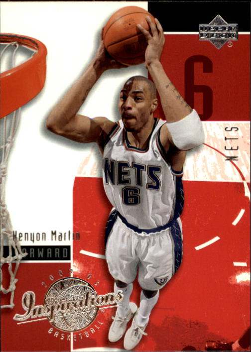 2002-03 Upper Deck Inspirations #53 Kenyon Martin