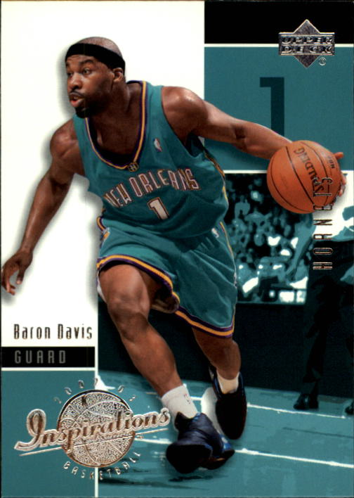 2002-03 Upper Deck Inspirations #54 Baron Davis