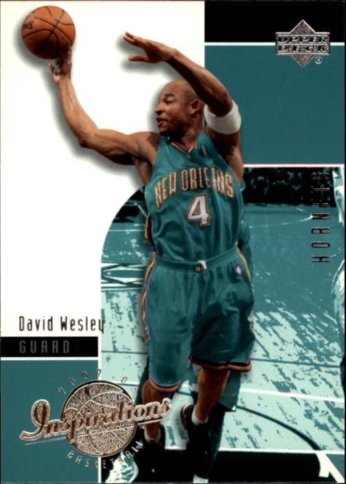 2002-03 Upper Deck Inspirations #56 David Wesley