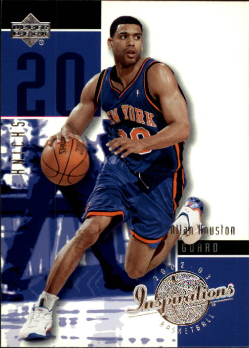 2002-03 Upper Deck Inspirations #57 Allan Houston