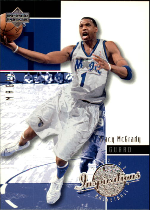 2002-03 Upper Deck Inspirations #60 Tracy McGrady