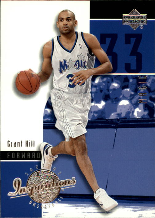 2002-03 Upper Deck Inspirations #61 Grant Hill