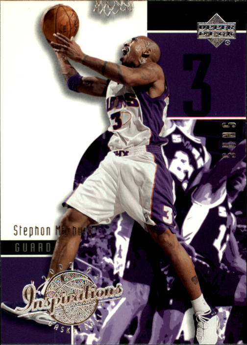 2002-03 Upper Deck Inspirations #65 Stephon Marbury