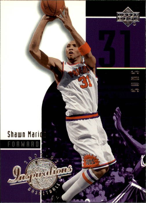 2002-03 Upper Deck Inspirations #66 Shawn Marion