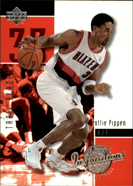 2002-03 Upper Deck Inspirations #70 Scottie Pippen