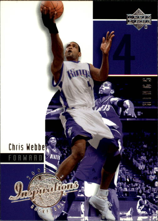 2002-03 Upper Deck Inspirations #71 Chris Webber