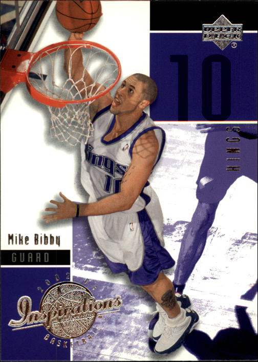 2002-03 Upper Deck Inspirations #72 Mike Bibby