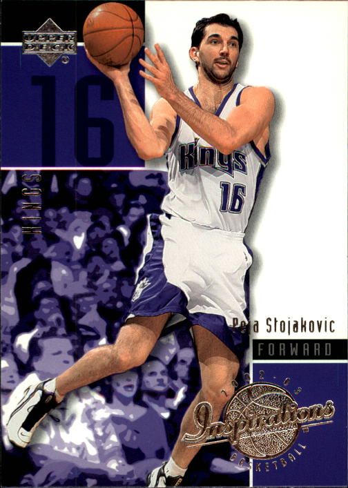 2002-03 Upper Deck Inspirations #73 Peja Stojakovic