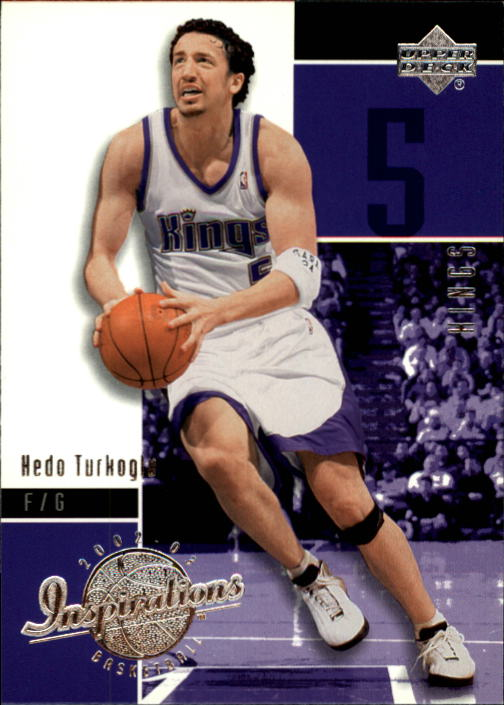 2002-03 Upper Deck Inspirations #74 Hedo Turkoglu