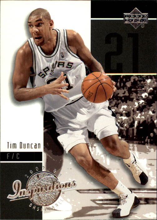 2002-03 Upper Deck Inspirations #75 Tim Duncan