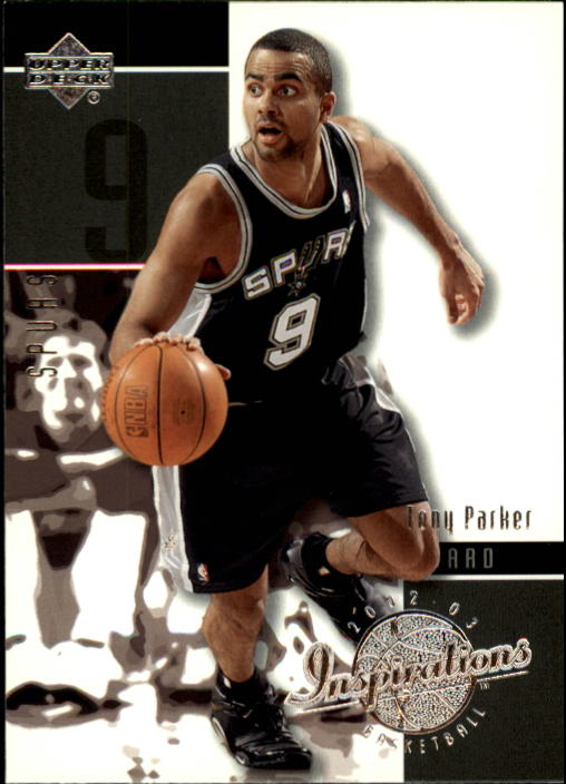 2002-03 Upper Deck Inspirations #77 Tony Parker