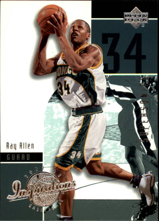 2002-03 Upper Deck Inspirations #78 Ray Allen