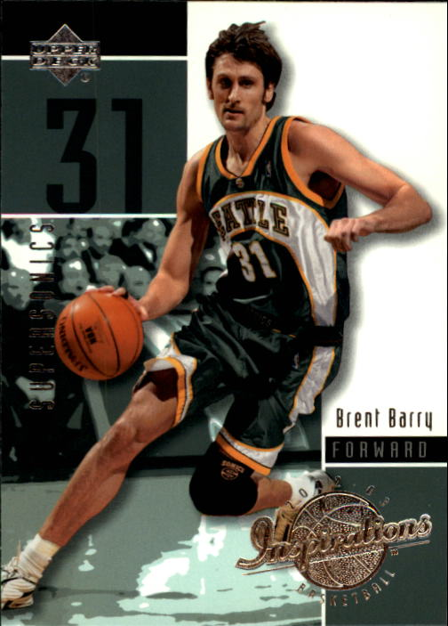 2002-03 Upper Deck Inspirations #80 Brent Barry