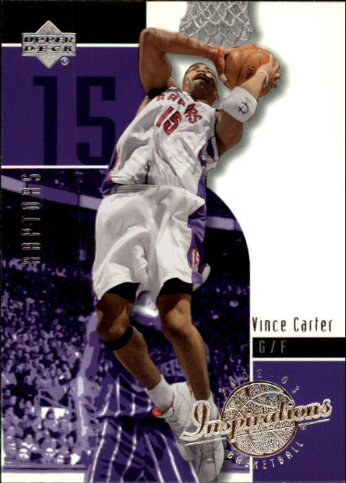 2002-03 Upper Deck Inspirations #82 Vince Carter