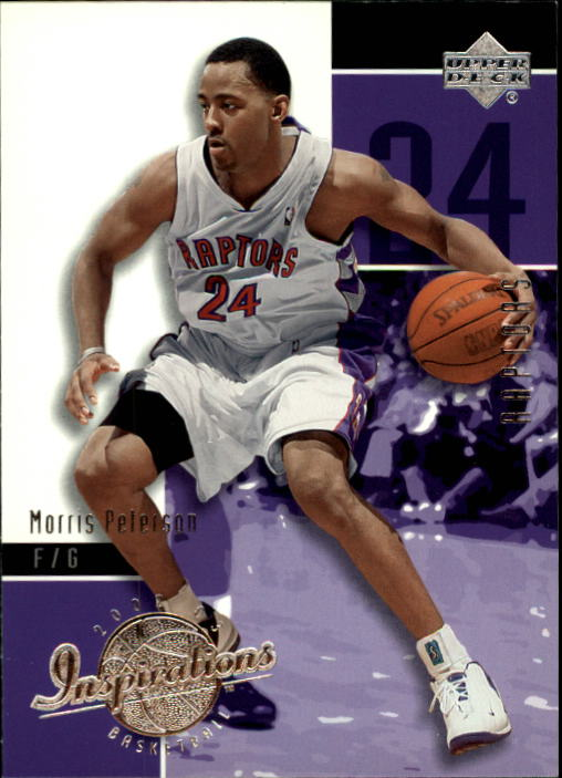 2002-03 Upper Deck Inspirations #83 Morris Peterson