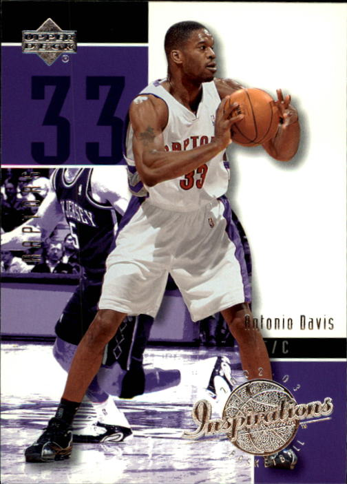 2002-03 Upper Deck Inspirations #84 Antonio Davis