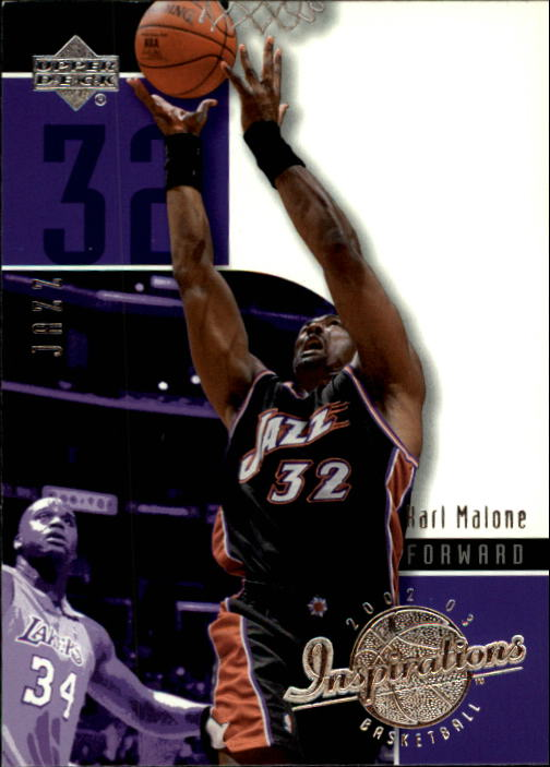 2002-03 Upper Deck Inspirations #85 Karl Malone