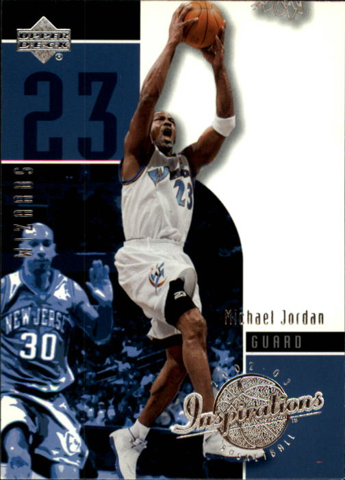 2002-03 Upper Deck Inspirations #89 Michael Jordan