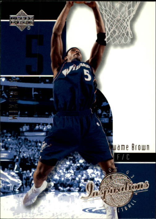 2002-03 Upper Deck Inspirations #90 Kwame Brown