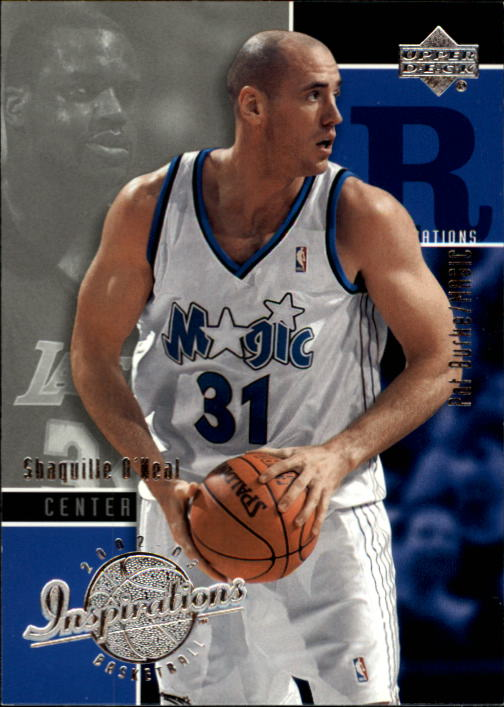2002-03 Upper Deck Inspirations #100 Pat Burke RC/Shaquille O'Neal