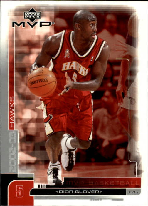 2002-03 Upper Deck MVP #7 Dion Glover