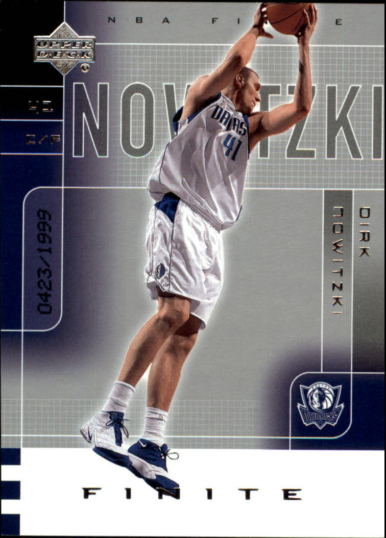 2002-03 Upper Deck Finite #18 Dirk Nowitzki