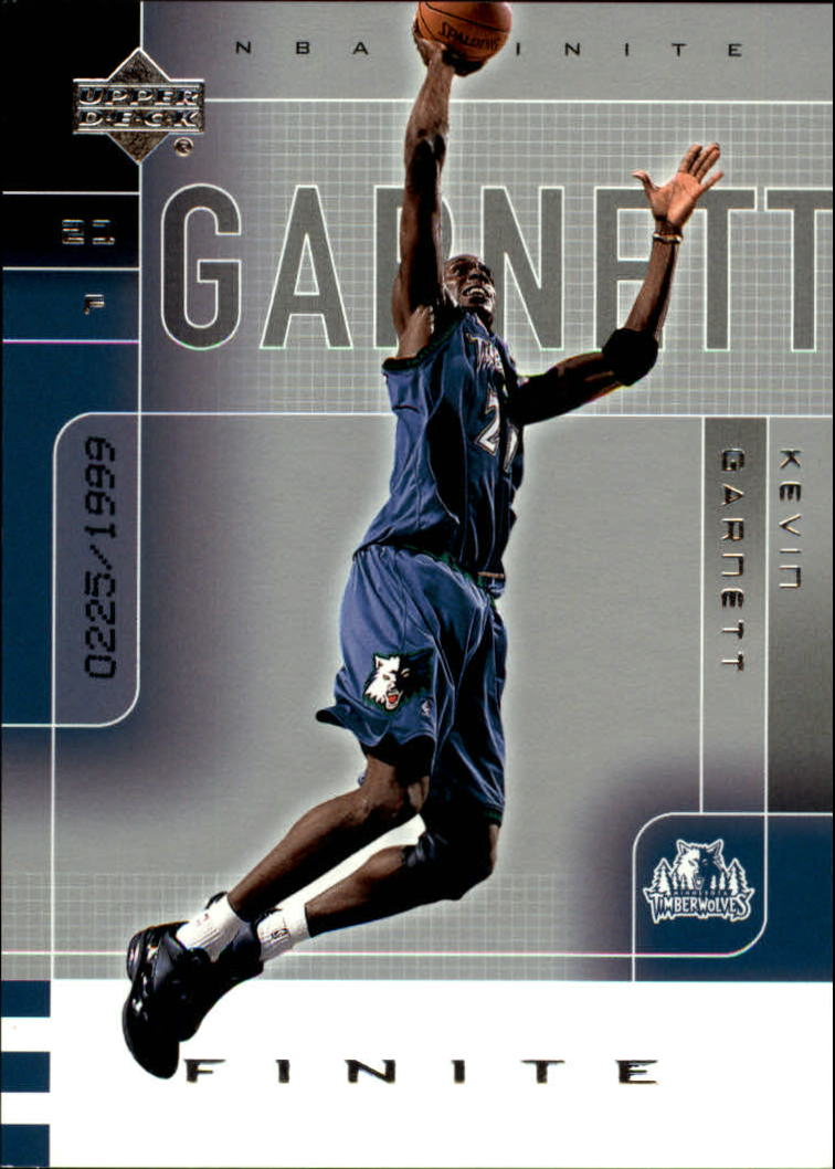2002-03 Upper Deck Finite #54 Kevin Garnett