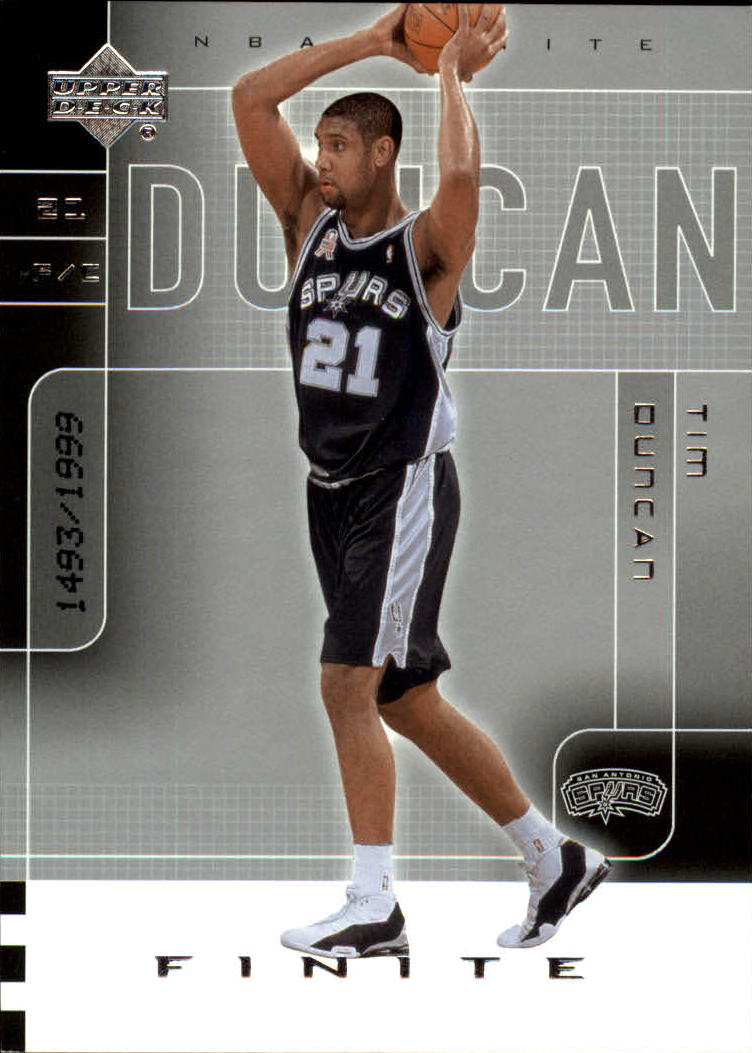 2002-03 Upper Deck Finite #84 Tim Duncan