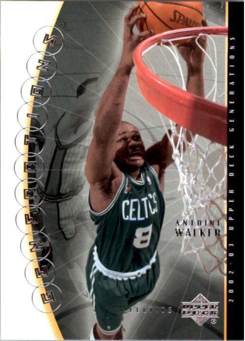 2002-03 Upper Deck Generations #3 Antoine Walker