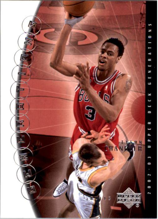 2002-03 Upper Deck Generations #5 Tyson Chandler